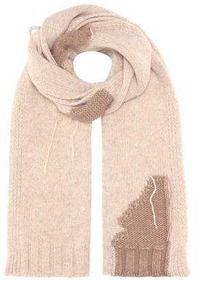 Acne Studios Olina S Patch wool-blend scarf