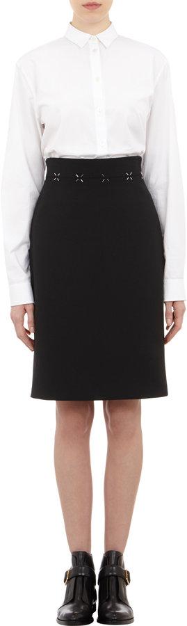 Alexander Wang Skirt with Cross-hatch Details