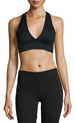 Varley Brooks Crop Top, Black $60 thestylecure.com