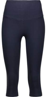 Yummie by Heather Thomson Talia Cropped Stretch-Cotton Leggings