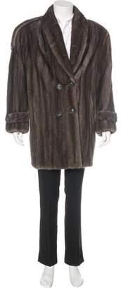 Fur Sakowitz Mink Coat
