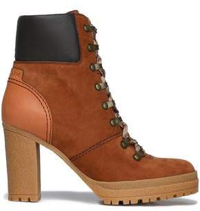 See by Chloe Nubuck Ankle Boots