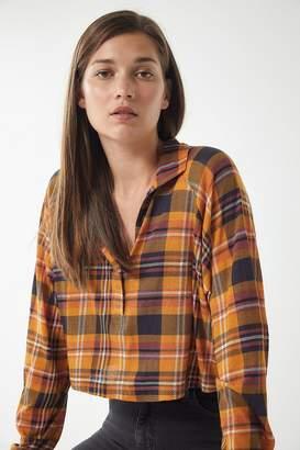 Urban Outfitters Carson Long Sleeve Polo Shirt