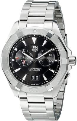 Tag Heuer Men's WAY111Z.BA0910 Analog Display Quartz Silver Watch