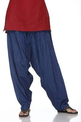 Ladyline Plain Patiala Salwar Pants-100% Cotton-in Many Colours- Kameez Kurti Tunic Yoga