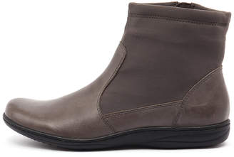 Planet Revel-pl Grey Boots Womens Shoes Casual Ankle Boots