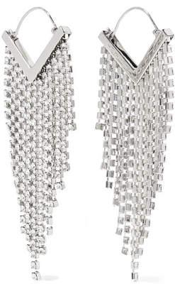 8a6ba18429 Isabel Marant Silver-tone Crystal Earrings