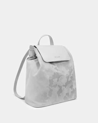 Ted Baker LLIA Reflective camo backpack