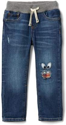 Gap Monster Patch Slim Jeans in Stretch