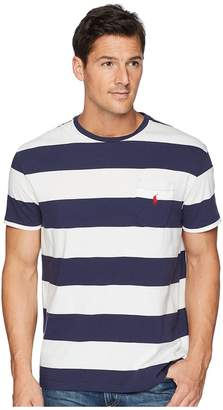 Polo Ralph Lauren Classic Fit Bold Striped Pocket T-Shirt Men's T Shirt