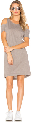 LA Made Zadeth Cold Shoulder Tee Dress $74 thestylecure.com