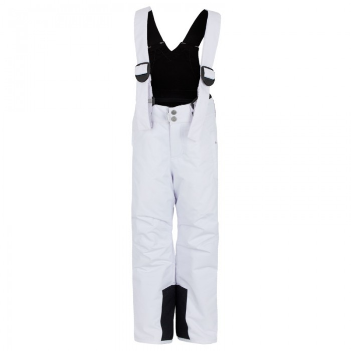Bogner White Ski Pants with Suspenders