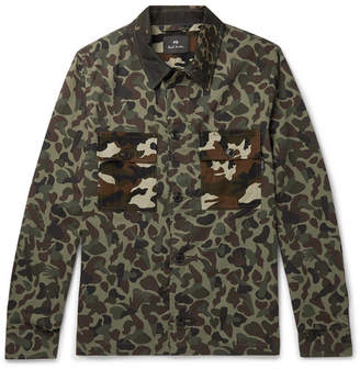 Paul Smith Camouflage-Print Cotton Shirt Jacket