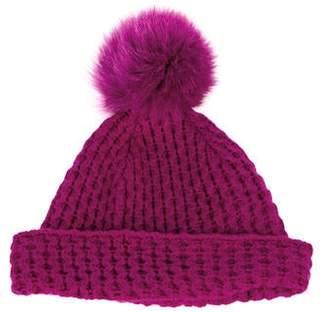 Sofia Cashmere Cashmere Knit Beanie
