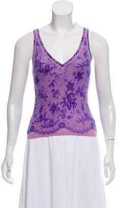 Rebecca Taylor Sleeveless Cashmere Top