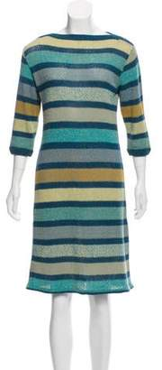 Missoni Long Sleeve Striped Dress
