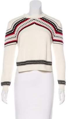 Torn By Ronny Kobo Knit Long Sleeve Sweater