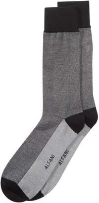 Alfani Men's Pique Solid Dress Socks