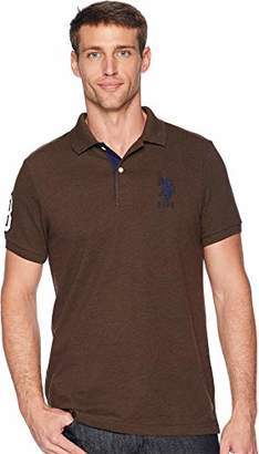 U.S. Polo Assn. Men's Short-Sleeve Shirt with Applique