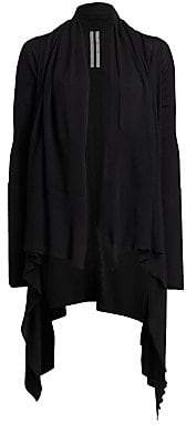 Rick Owens Women's Merino Wool Cardigan