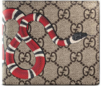 Snake print GG Supreme coin wallet $420 thestylecure.com