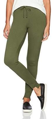 Pam & Gela Women's Sweat Pant W/Uneven Hem