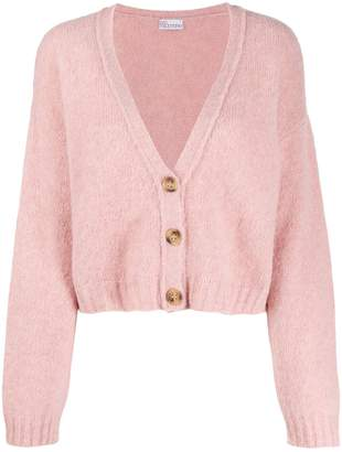 RED Valentino knitted cropped cardigan