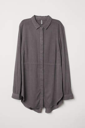 H&M Twill Shirt - Gray