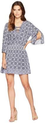 BB Dakota Saylor Ikat Printed Dress Women's Dress