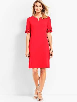 Talbots Lace Elbow Shift Dress