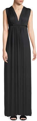 Rachel Pally Long Sleeveless Empire-Waist Caftan Dress, Plus Size