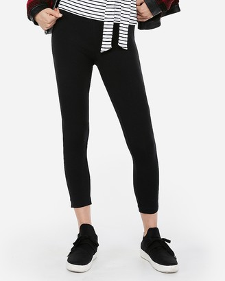 Express Sexy Stretch Cropped Leggings