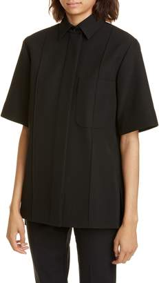 Kwaidan Editions Bonded Wool & Cotton Shirt Jacket
