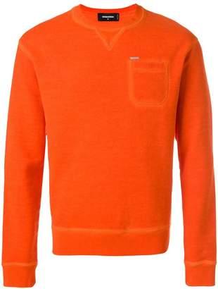DSQUARED2 chest pocket sweatshirt