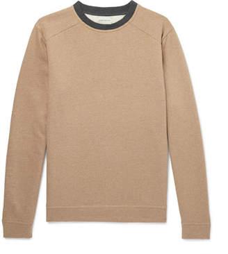 Oliver Spencer Robin Fleece-Back Cotton-Jersey Sweatshirt