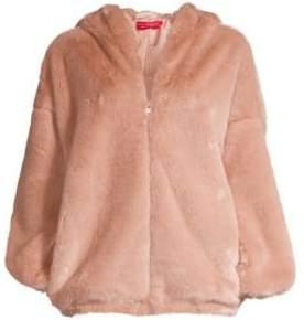 n:philanthropy Faux-Fur Hooded Jacket