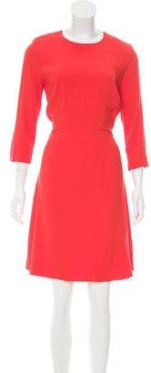 Sandro Knee-Length A-Line Dress w/ Tags $80 thestylecure.com