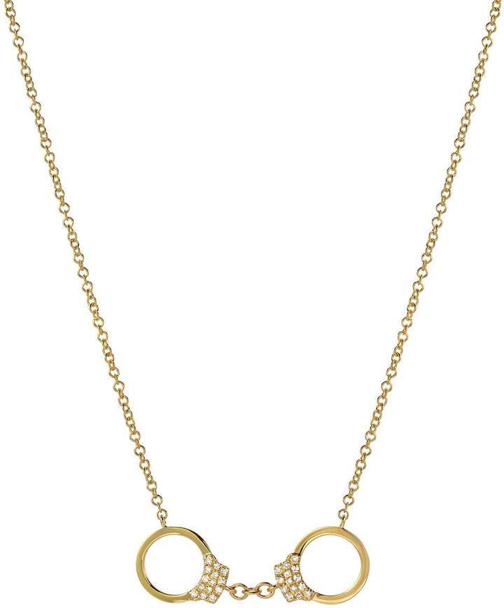 Etsy Diamond handcuffs, Zoe Lev Jewelry