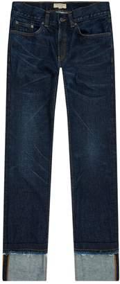 Burberry Turn Up Hem Jeans