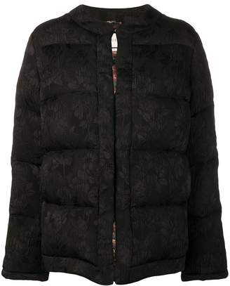 Gucci floral quilted jacket
