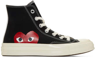 Comme des Garcons Black Converse Edition Chuck Taylor All-Star 70 High-Top Sneakers