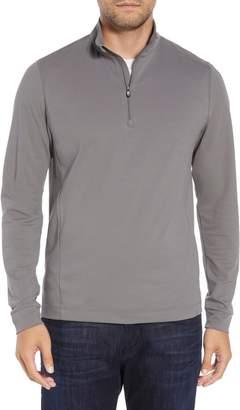 Cutter & Buck Advantage Regular Fit DryTec Mock Neck Pullover