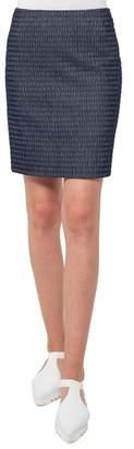 Akris Punto Fantasy Corduroy Jacquard Miniskirt