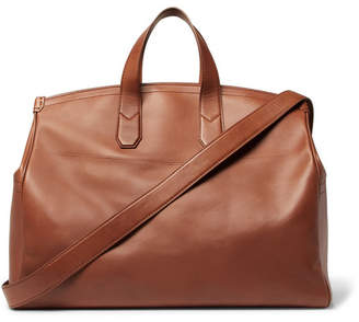 Dunhill Duke Leather Holdall - Men - Tan
