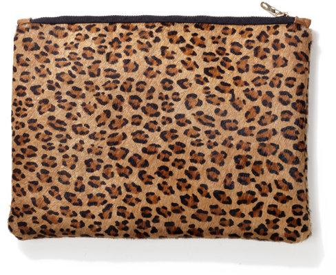 The Leopard Clutch