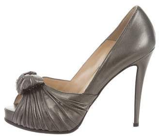 Christian Louboutin Lady Gres Leather Pumps