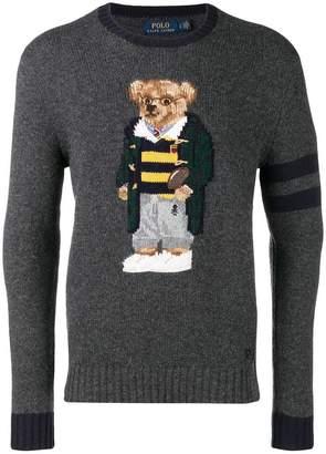 Polo Ralph Lauren teddy bear knitted jumper