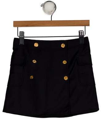 Brooks Brothers Girls' Wool Mini Skirt