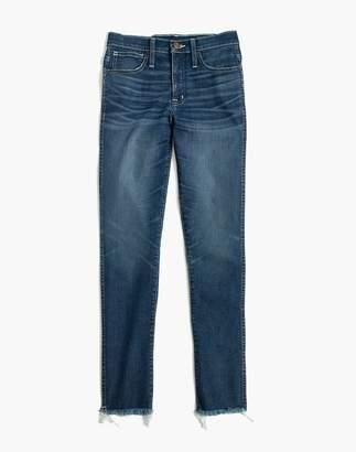 Madewell Slim Straight Jeans: Raw-Hem Edition