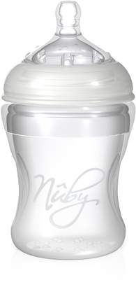 Nuby Luv N Care Natural Touch Silicone Bottle Medium Flow, 7 Ounce